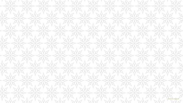 White pattern wallpaper with gray shapes