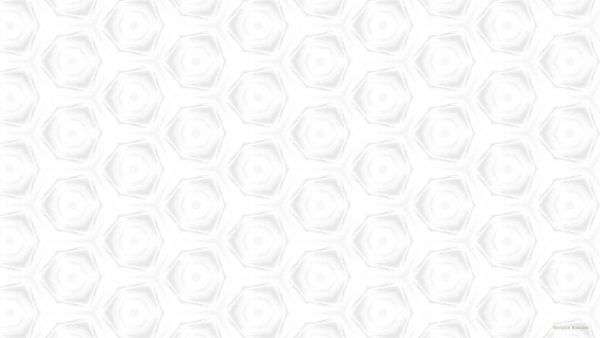 White wallpaper with light gray pattern