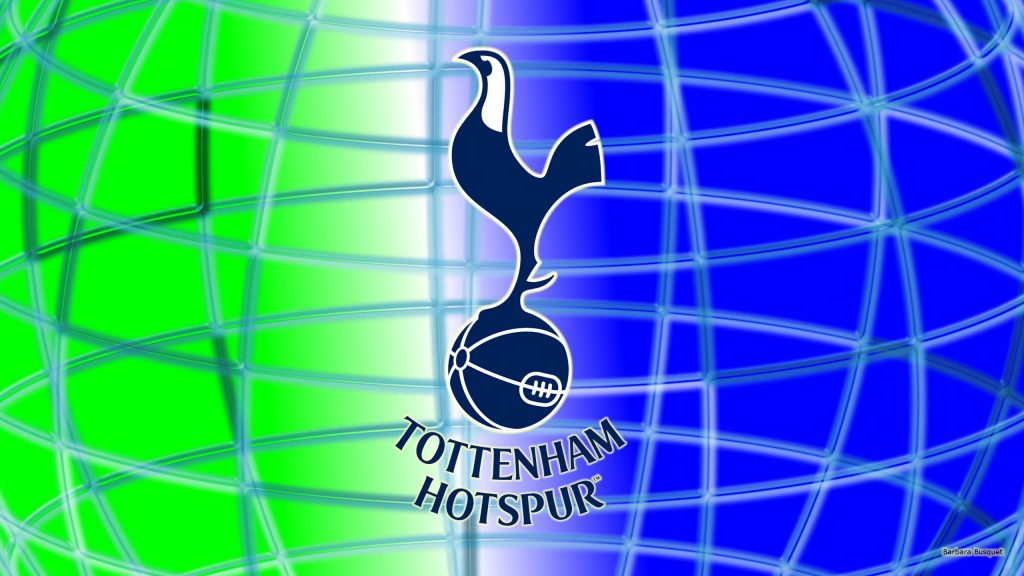 Blue green Tottenham Hotspur wallpaper
