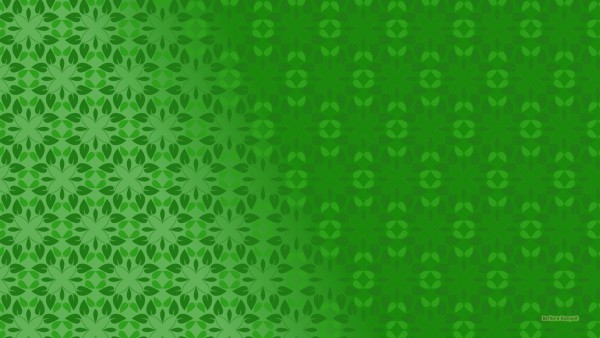 Green Desktop background with leaves