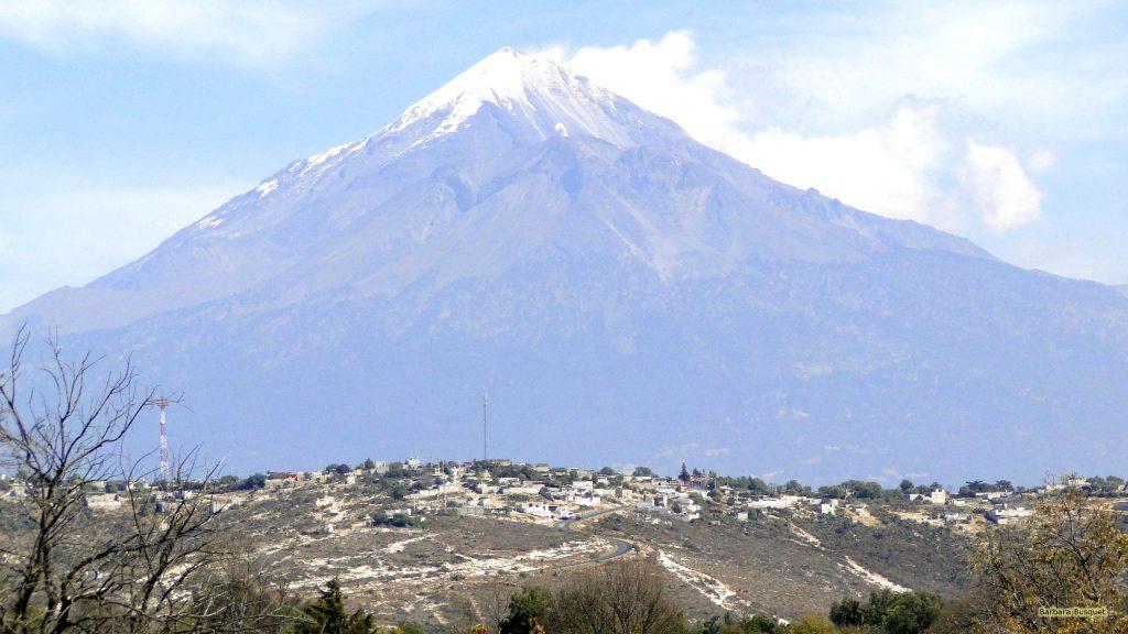 A volcano in Mexico.