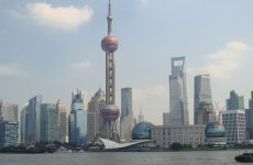 Skyline of Shanghai