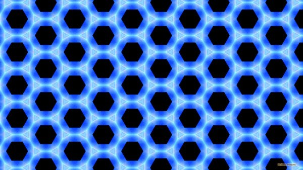 Black blue pattern wallpaper