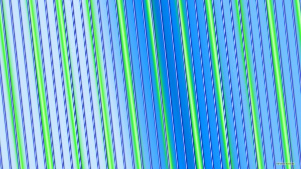 Blue green HD wallpaper with neon lines