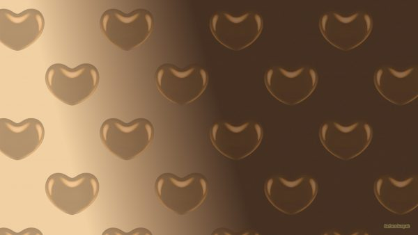 HD wallpaper with hearts pattern