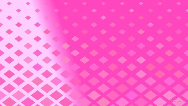 Pink wallpaper with squares