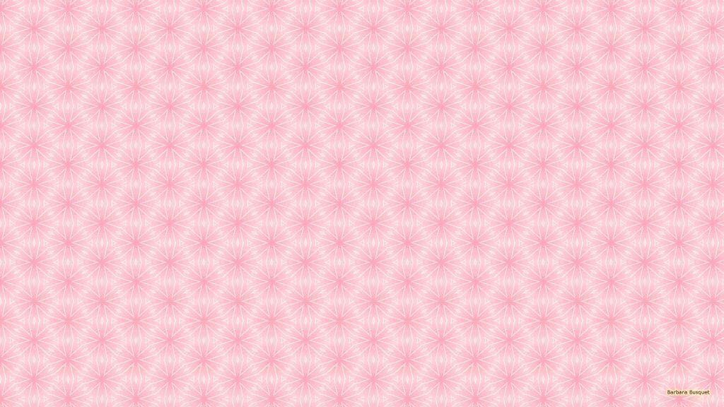 Pink white pattern wallpaper