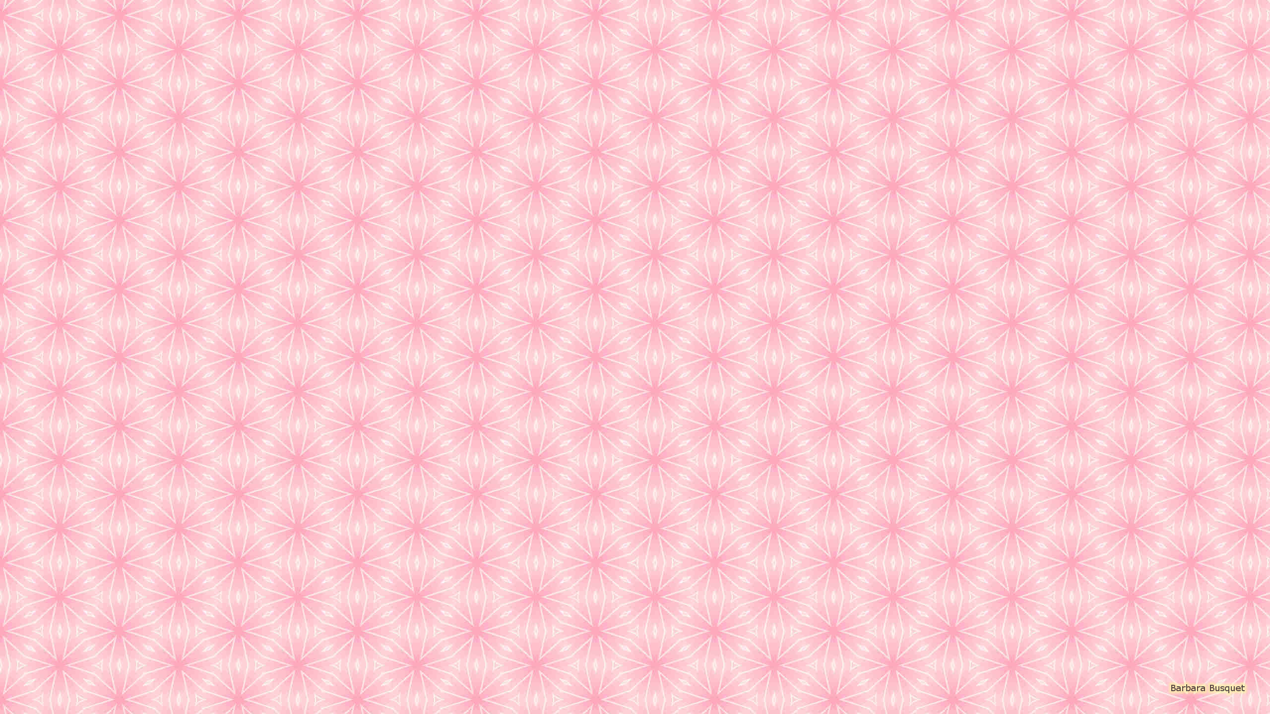 Light Pink With White Pattern Wallpaper
