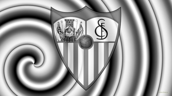 Silver gray Sevilla football wallpaper