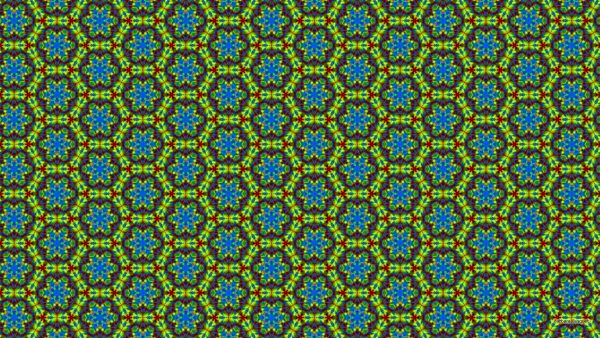 Green blue hexagon wallpaper.