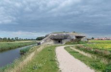 Dutch bunker and nature