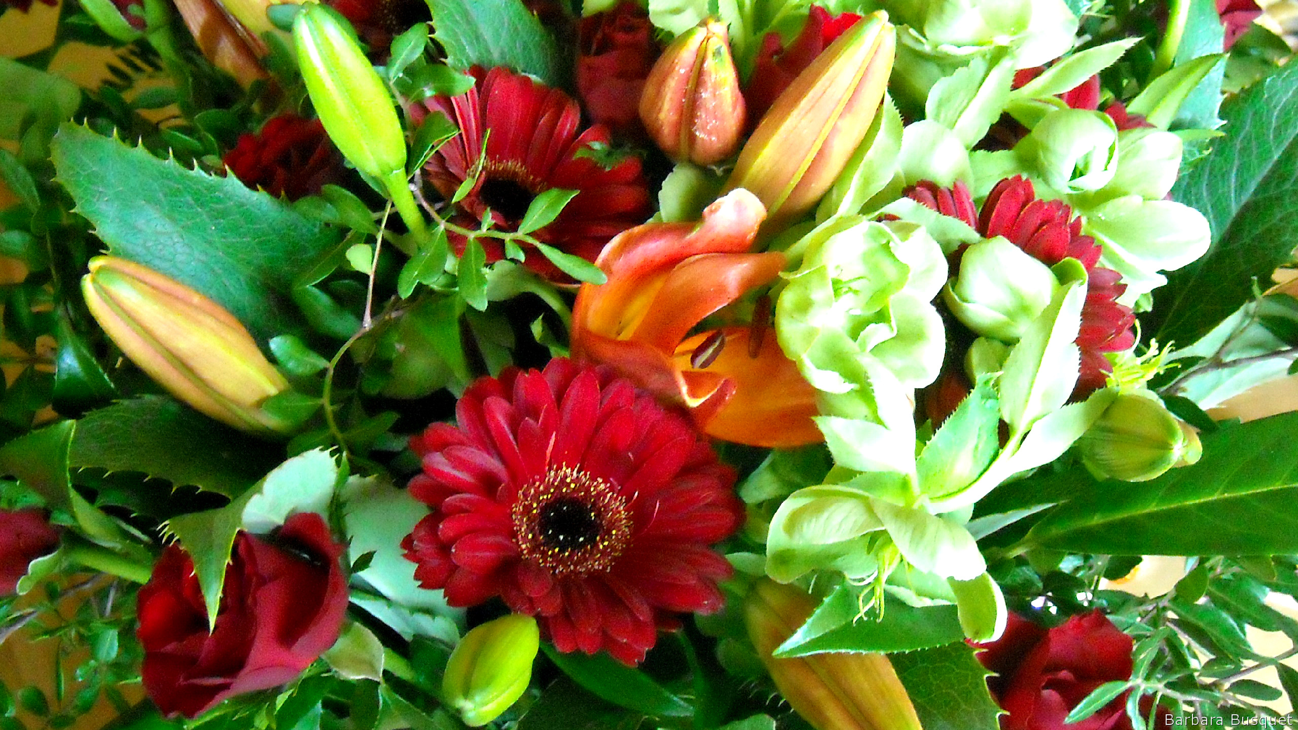 Flower Bouquet Barbaras Hd Wallpapers