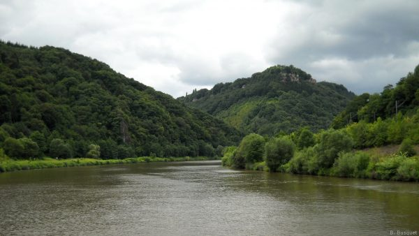 River in Germany seen from boat