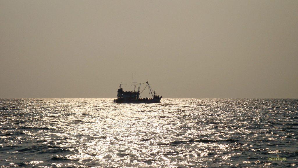 Thailand wallpaper boat in sea