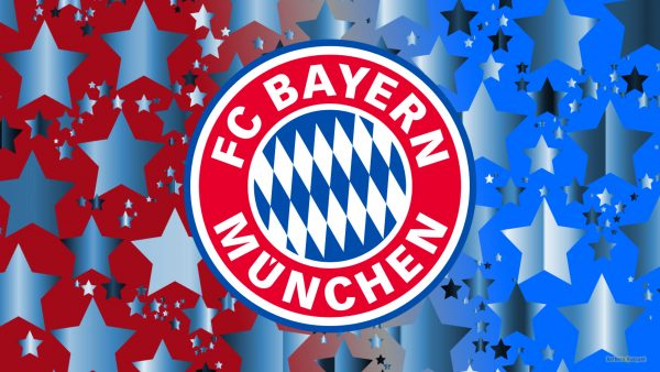 Bayern Munchen wallpaper with logo and stars