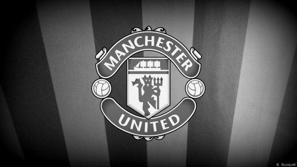 Black white Manchester Utd wallpaper