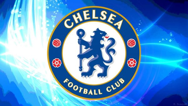 Blue Chelsea wallpaper