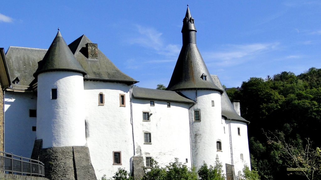 Clervaux castle in Luxembourg