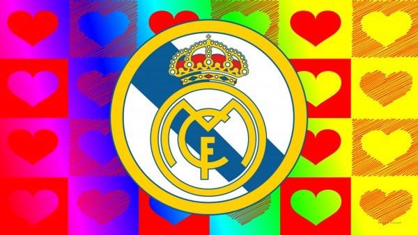 Colorful football emblem wallpaper