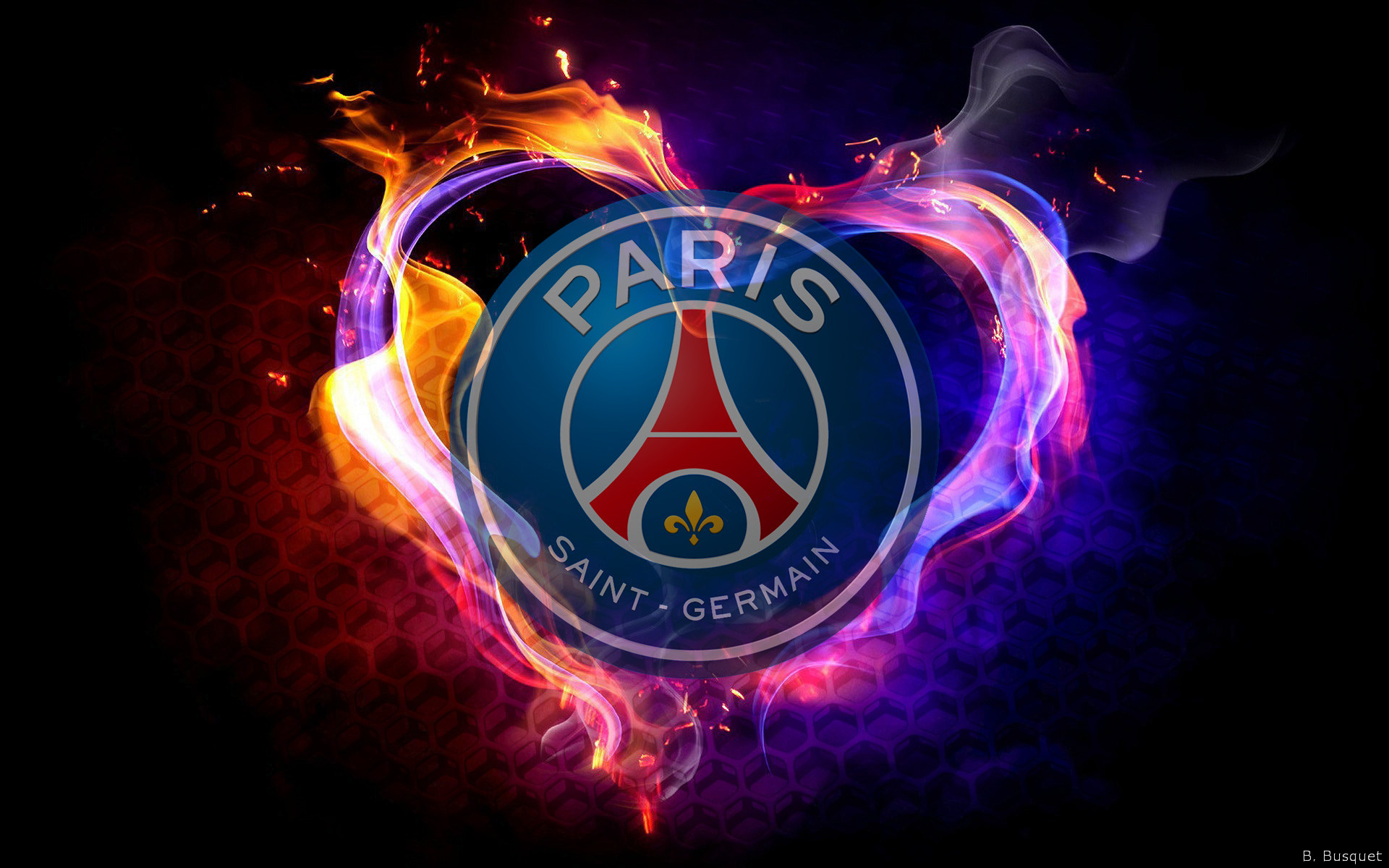 Paris saint germain psg barbaras hd wallpapers for Image de fond