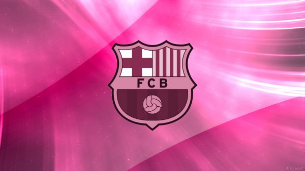 Pink FC Barcelona wallpaper