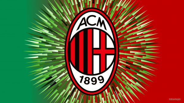 Red green AC Milan wallpaper