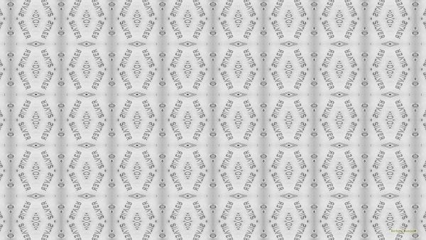 Silver text pattern wallpaper
