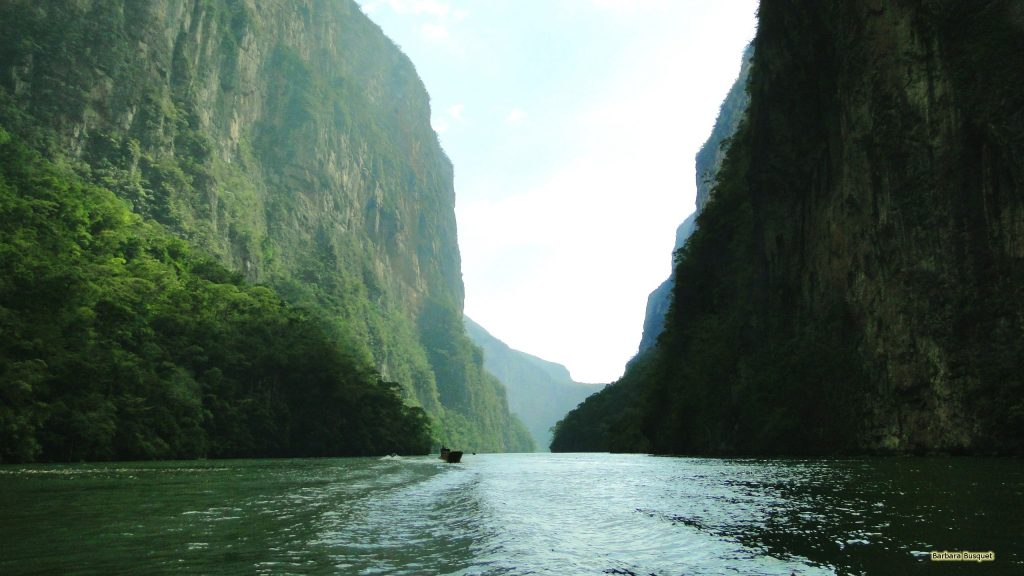 The Sumidero Canyon in Mexico