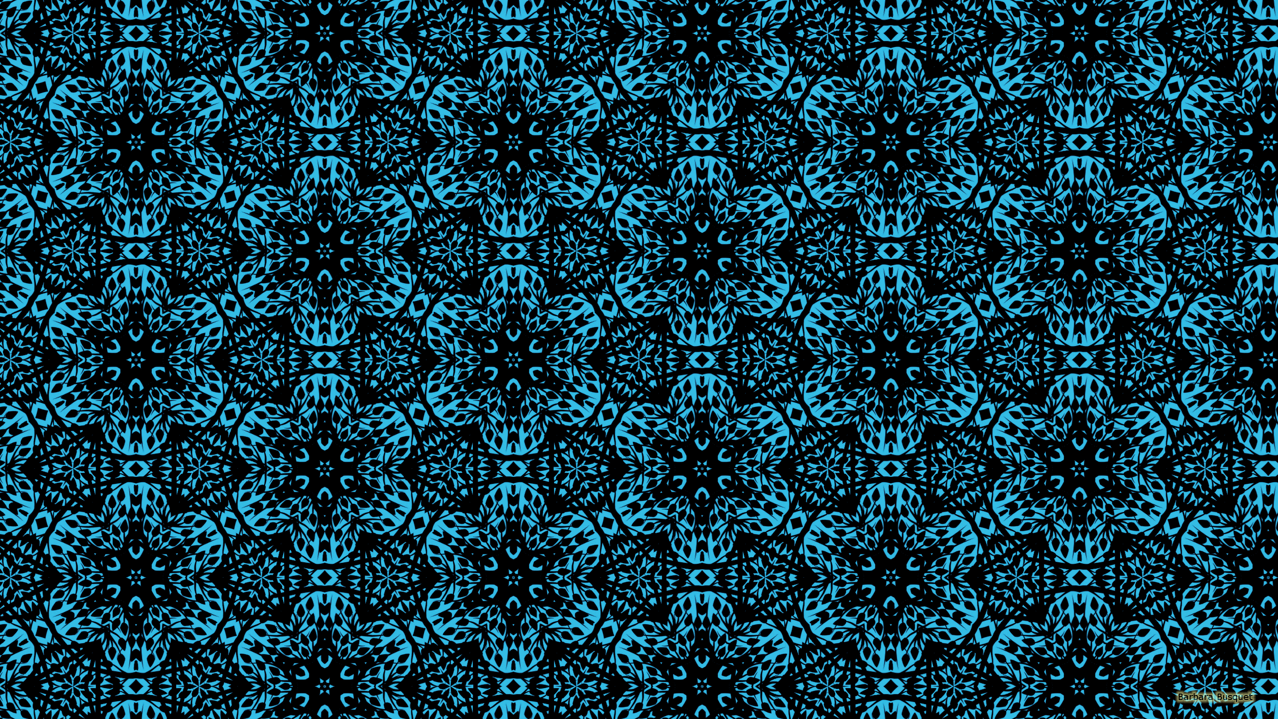 Hd wallpaper pattern - Blue Hd Wallpaper With A Black Pattern