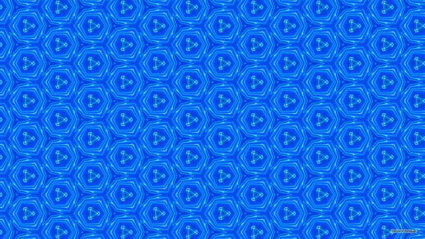 Blue wallpaper with white pattern