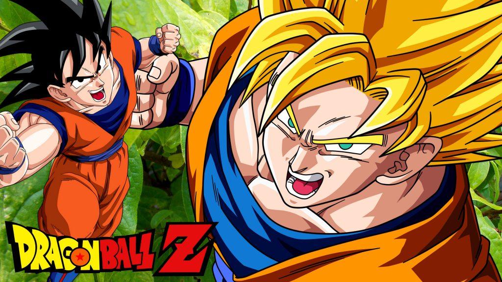 Dragon Ball Z wallpaper with Goku