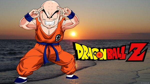 Dragon Ball Z wallpaper with Krillin