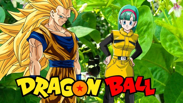 Dragon Ball wallpaper with Bulma and Goku