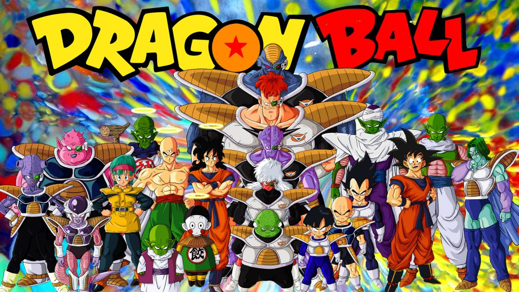Dragon Ball wallpaper with many characters