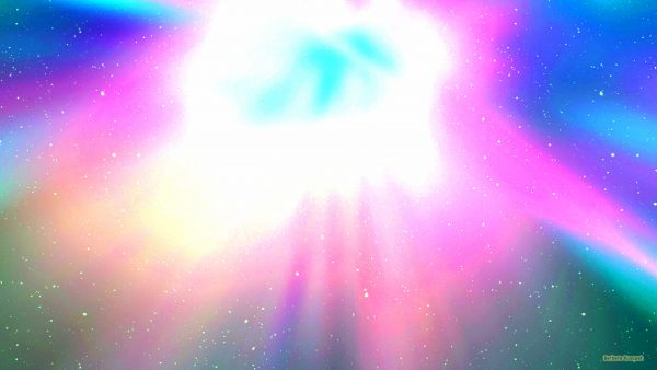 Explosion in galaxy