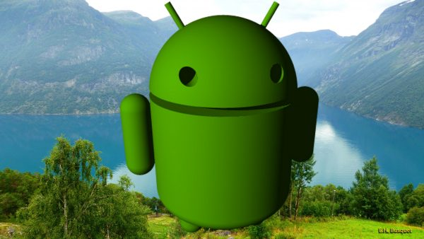Wallpaper Android Robot in Norway