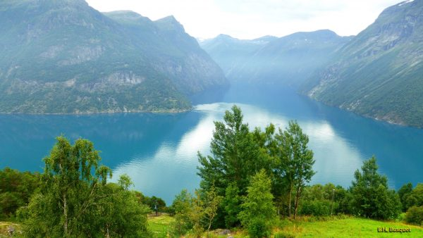 Wallpaper with Fjords in Norway