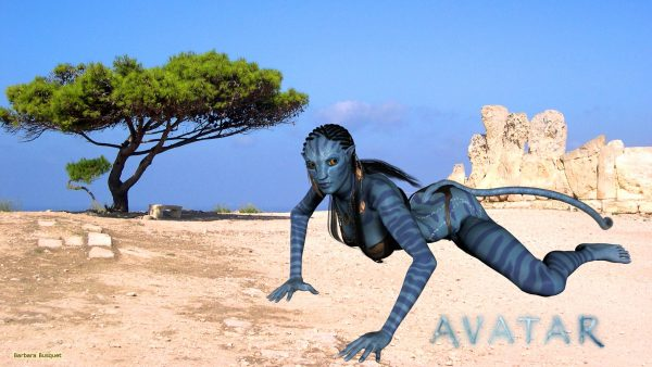 HD wallpaper Neytiri in the desert