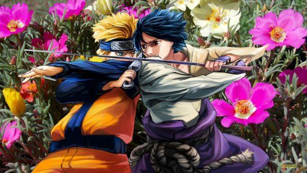 Naruto Shippuden Wallpaper Naruto and Sasuke
