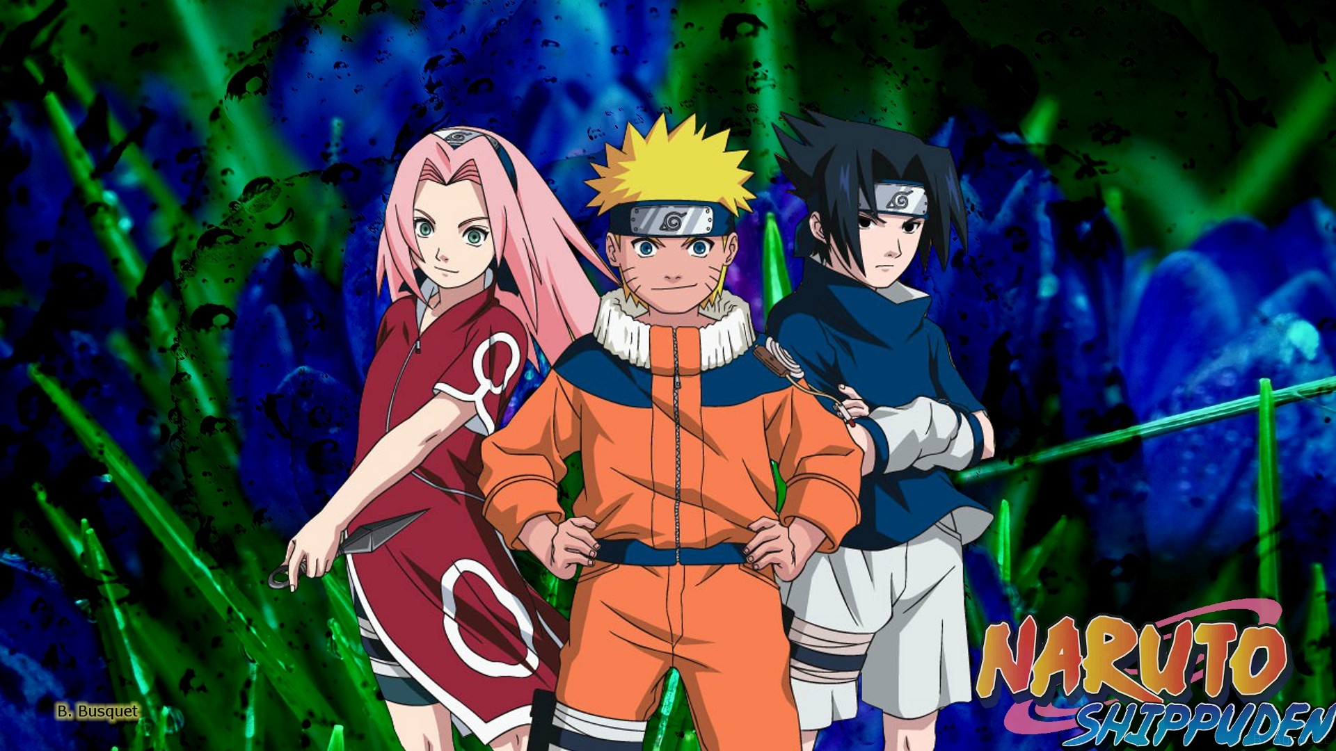 Naruto Shippuden wallpaper Sakura Naruto and Sasuke 1