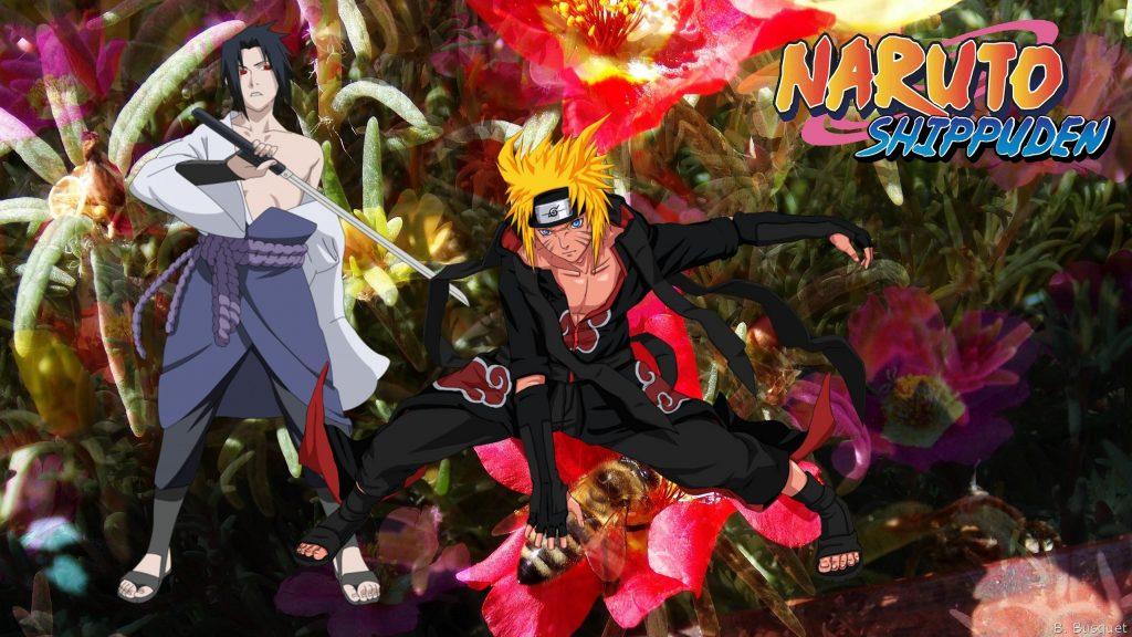 Naruto and Sasuke Uchiha