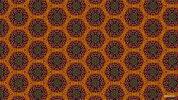 Pattern wallpaper with colorful mosaic