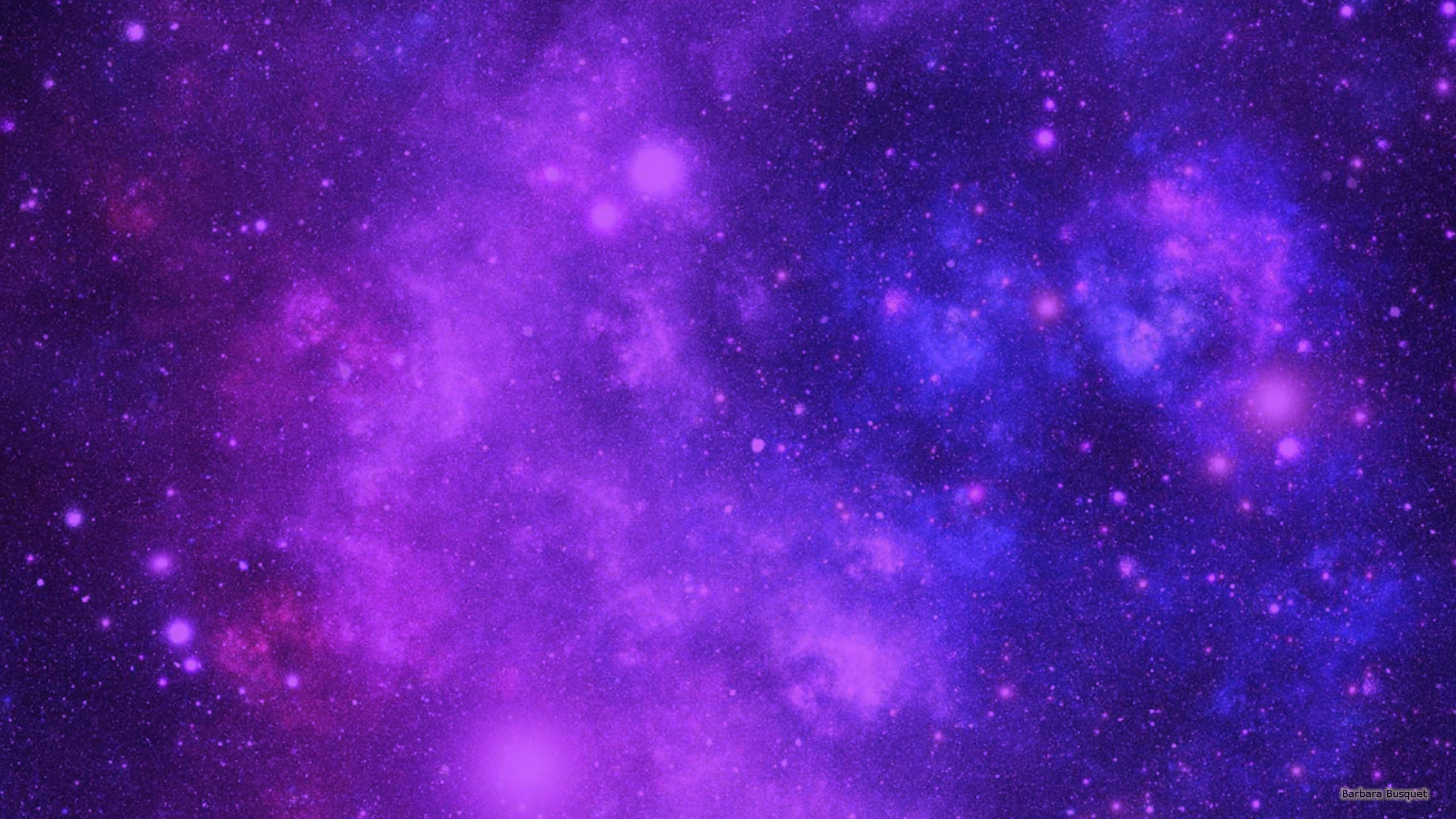 Purple Blue Galaxy Wallpaper
