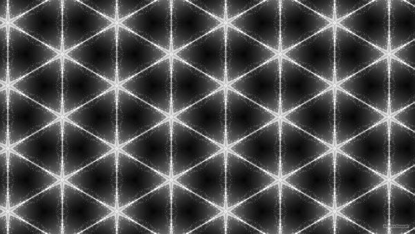 Black pattern wallpaper with lighter stars