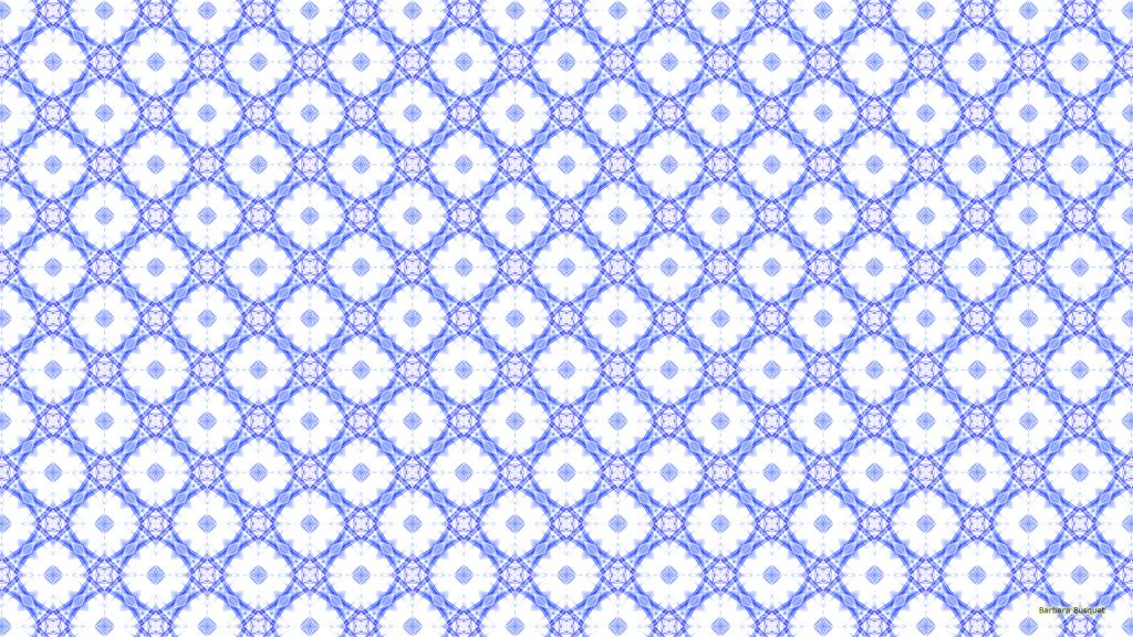 Blue white abstract pattern background