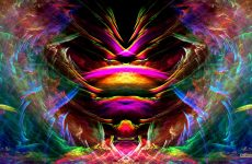 Colorful wallpaper abstract