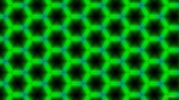 Dark green shapes pattern wallpaper