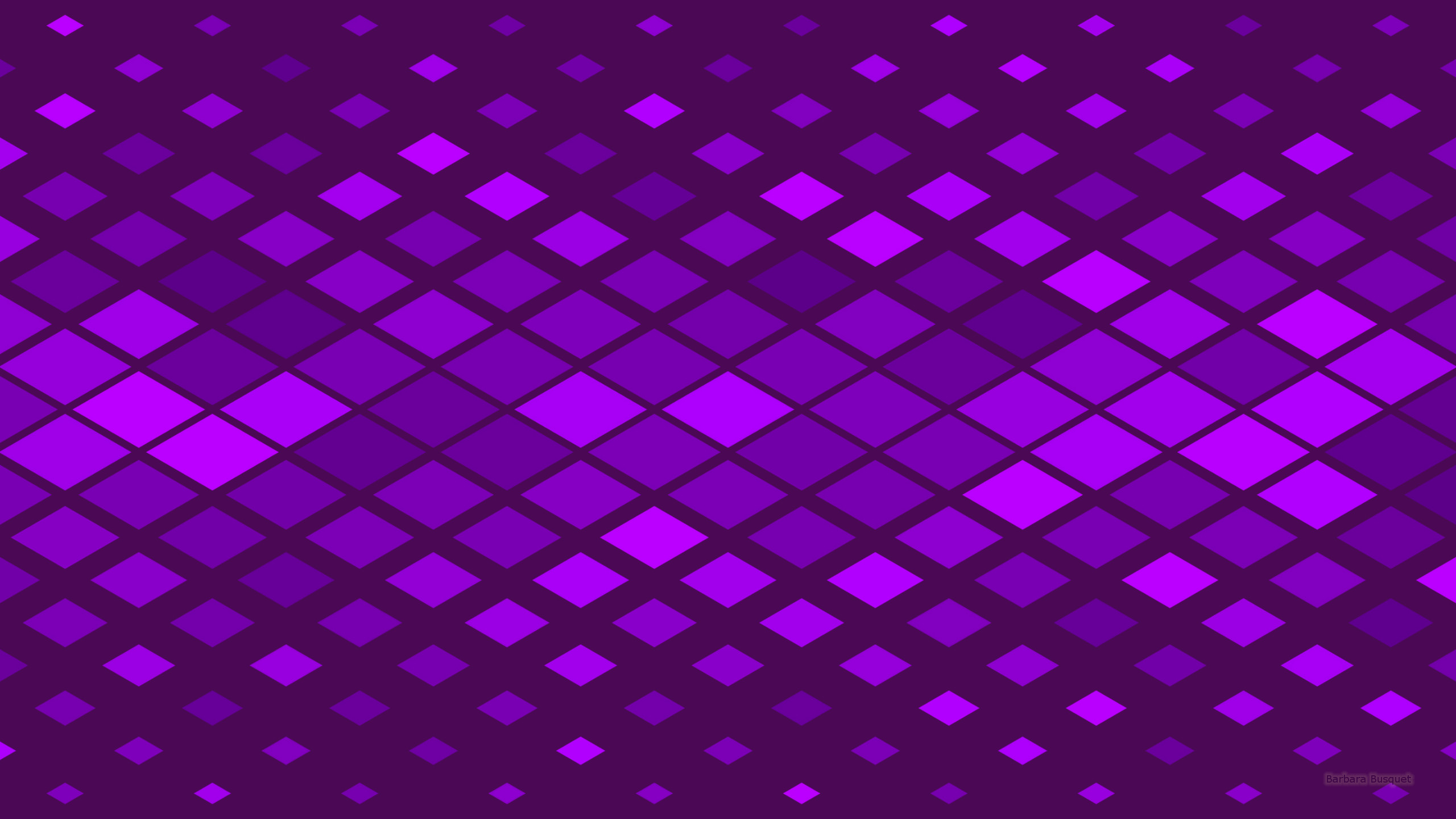 Dark Purple Square Pattern Wallpaper