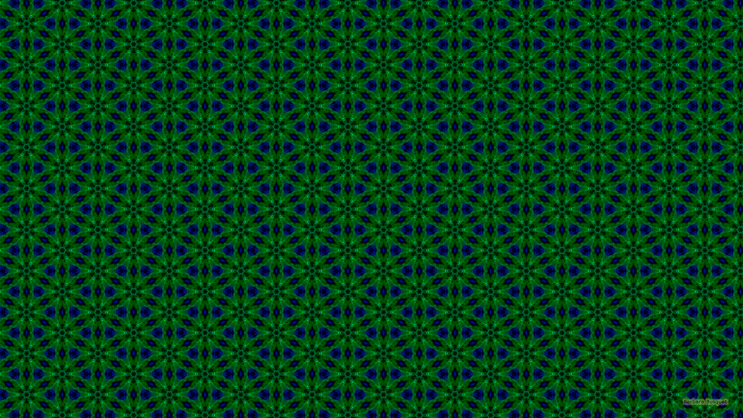 Blue and green pattern wallpaper - photo#7