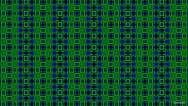 Pattern wallpaper with blue and green squares
